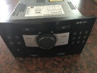 Stereo head Unit mp3 for Vauxhall Astra- Code Unknown