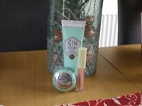 Gin & Tonic scented hand/lips Christmas gift set