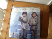 Brand New!! Boys Or Girls Snowsuit White Fur Polar Bear 9-12 Months