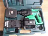 Hitachi DH24DVC 24 Volt SDS Plus Rotary Hammer
