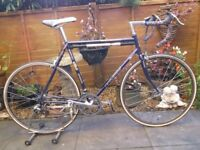 Rare Vintage Raleigh Odyssey racing bike . Reynolds 531 . Shimano 300ex