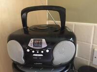 Lowry radio CD player