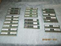 23 sticks of ram ( PC memory )