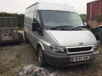 Ford transit 2.0d fwd
