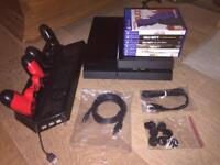 Sony PlayStation 4 500GB | x2 Controllers | x1 Cooling Station | x6 Games | + Accessories