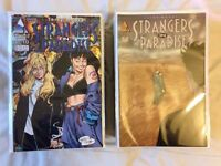 F/VF Strangers in Paradise SETS (Vol 2 & 3) + Federal Bureau of Physics SET (Vol 1 & 2)