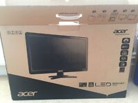 """Acer 27"""" wide screen HD monitor"""