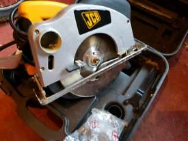 Jcb circular saw as new