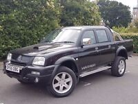 2006 MITSUBISHI L200 WARRIOR, 2.5 DIESEL ENGINE, PICK UP TRUCK, DRIVES GREAT & NO VAT.