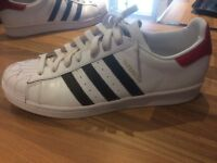 Adidas Seperstars size 9 (special editon) excellent condition