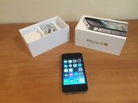Apple iPhone 4s boxed good condition and fully working order on EE network only