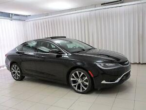 2016 Chrysler 200 WOW! WHAT MORE DO YOU NEED!? 200C SEDAN w/ HEA