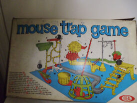 MOUSETRAP BOARDGAME FROM 1960'S