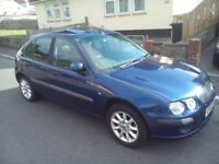 *NICE LITTLE BARGAIN*METALIC NAVY BLUE*ROVER 25 (VERY RELIABLE)