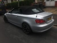 2009 1 series BMW 118D Auto Diesel Convertible not Audi A5, bmw645, a3, cayenne, boxster