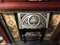 Electric fire and surround In good condition