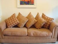 3 Piece Suite- 4 seater, 2 seater and armchair ex Sterling Furniture Very good condition Reduced **