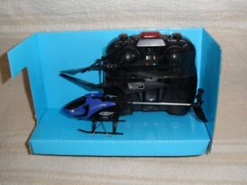 Three channel infrared remote control helicopter