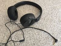 Sony MDRZX310 Foldable Headphones with call answering - Black