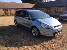 "Ford Smax Titanium X Sport. HPI Clear. Panoramic Roof, Half Leather, 18"" Wheels. 7 Seater"