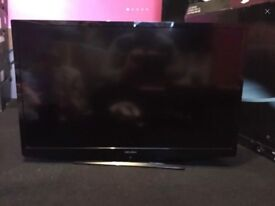 Bush 32in TV Mint with Box, stand and remote