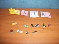 COLLECTION OF PIN BADGES