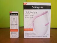 Neutrogena visibly clear light therapy mask (Brand New!!!)