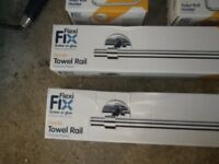 Toilet roll holders/towel rails
