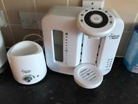 Tommee Tippee perfect prep machine and bottle warmer