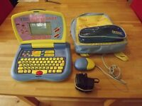 Kids VTech Expressions Laptop - used but great condition. Quick sale, hence cheap!