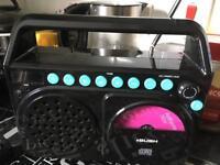 Retro style radio / CD player