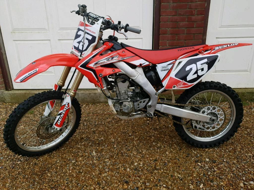 2005 Honda Crf250r Crf 250 Mx Motocross 450 125 Yzf Kxf Ktm In Bungay Norfolk Gumtree