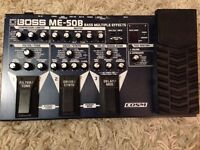 Boss ME-50B Multi-Effects Bass Guitar Effect Pedal