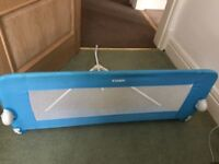 Blue Tomy children's bed guard