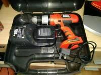 Cordless drill b&d