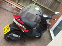 Beeline VELOCE tapo rs 50cc scooter very low mileage well looked after