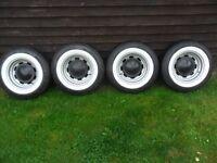classic car wide wheels