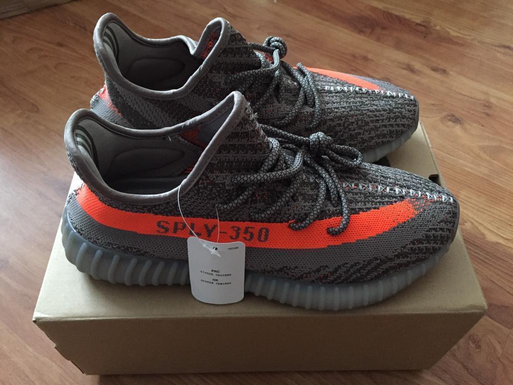 a23315e2acbc4 ... where to buy adidas yeezy 350 boost v2 orange beluga size 9 74bfa 47799
