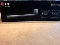 LG SH7 Wireless Multi-room Sound bar Hi-FI Audio 360W bluetooth.