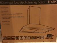 Logik 60cm cooker hood, extractor fan