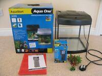 Fish Tank Starter Kit Aqua One AquaStart 320 Excellent Condition