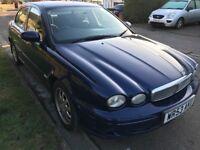 Jaguar X-Type Classic D 1988cc Turbo Diesel 5 speed manual 4 door saloon 53 Plate 03/11/2003 Blue