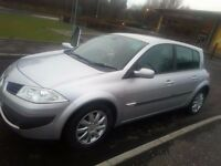 Renault Megane 2006 1.6 16v 5 door hatchbach plus 2 Keycards (Pictures to follow soon)