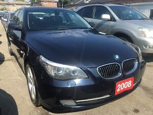 2008 BMW 5 Series 528xi AWD Navi Leather Sunroof Alloys SUPER CL