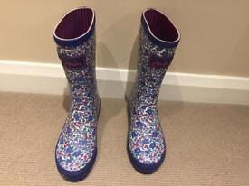 Joules girls wellies size 1