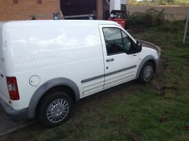 Ford transit connect tddi 55 plate