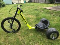 Razor Pedal powered drift trike