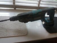 Makita sds breaker /drill + 4ah battery