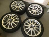 Ford Fiesta Alloy Wheels 195/45-R16