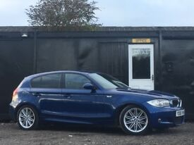 ★ 2006 BMW 120D M SPORT + 1/2 LEATHER + ALLOYS + 1 SERIES DIESEL ★